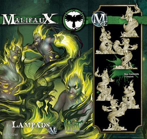 Malifaux: (Resurrectionists) Lampads