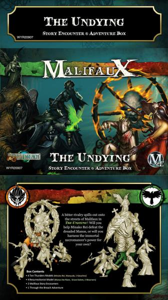 Malifaux: The Undying Encounter Box