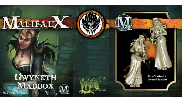Malifaux: (Ten Thunders) Gwyneth Maddox