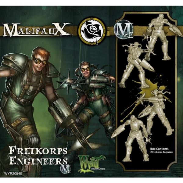 Malifaux: (The Outcasts) Freikorps Engineers