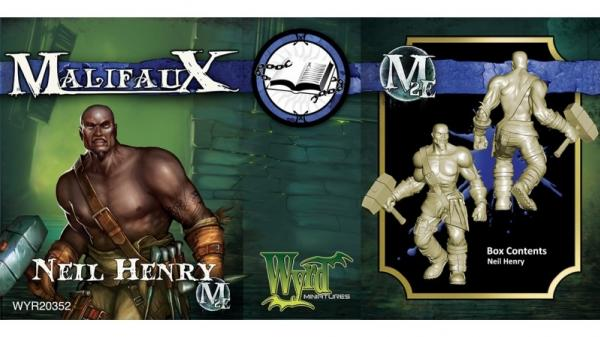 Malifaux: (The Arcanists) Neil Henry