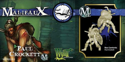 Malifaux: (The Arcanists) Paul Crockett