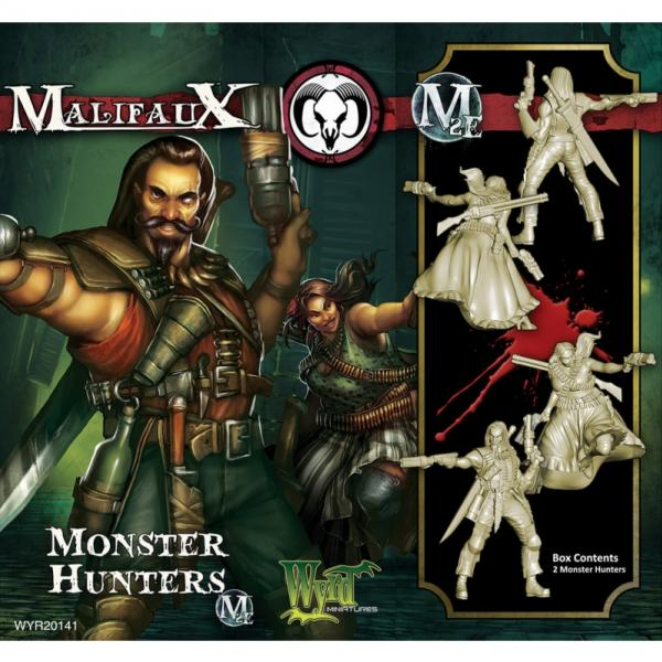 Malifaux: (The Guild) Monster Hunters