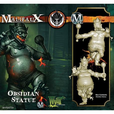 Malifaux: (Ten Thunders) Obsidian Statue