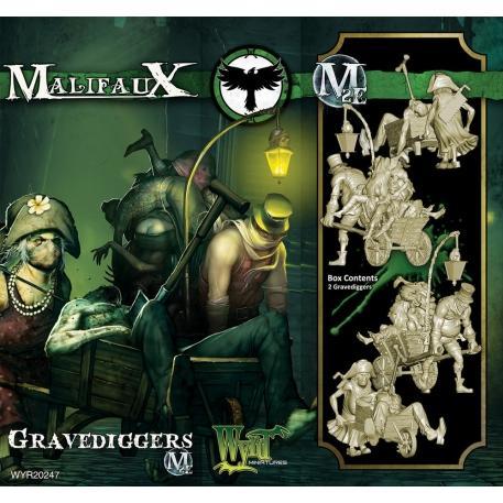 Malifaux: (Resurrectionists) Gravediggers
