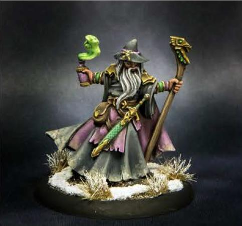 Dark Heaven Legends: Kelainen Darkmantle, Wizard
