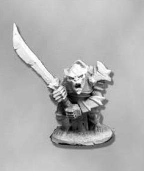 Dark Heaven Legends: Armored Goblin Leader