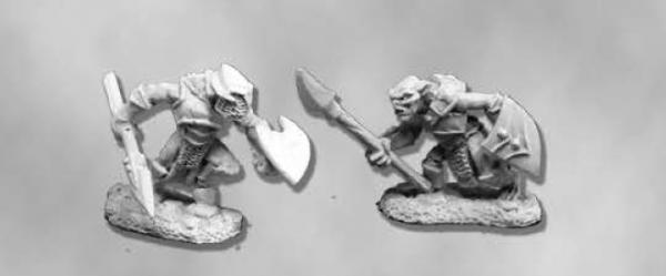 Dark Heaven Legends: Armored Goblin Spearmen (2)