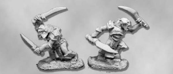 Dark Heaven Legends: Armored Goblin Swordsmen (2)