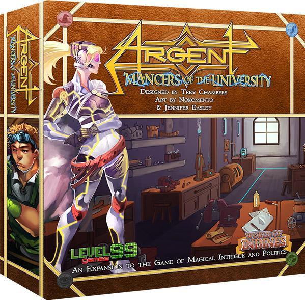 Argent: Mancers of the University (2nd Edition)