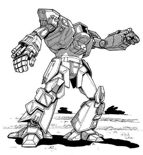 BattleTech Miniatures: Dasher II 3 Mech - 40 Tons - TRO 3145NTNU
