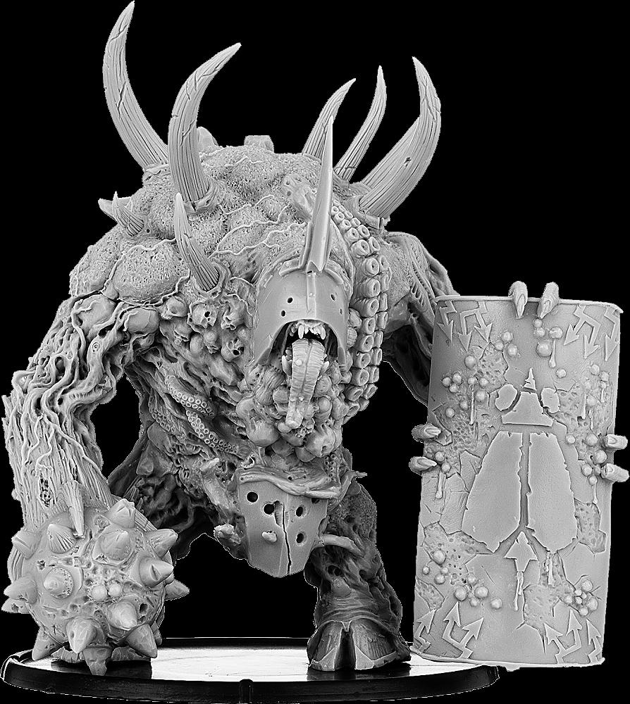 BaneLegions: B'ahl'kch'in, Armoured Blight Beast (resin)