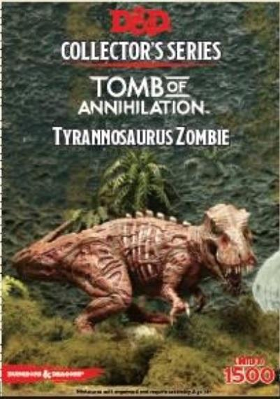 D&D Collector's Series: (Tomb of Annihilation) Tyrannosaurus Zombie (Limited)