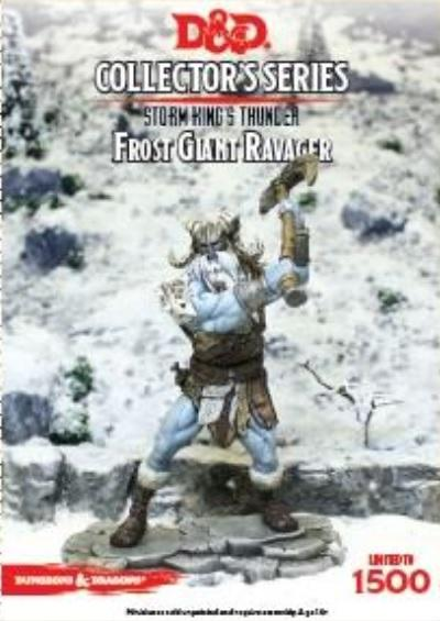 D&D Collector's Series: Frost Giant Ravager [Limited]