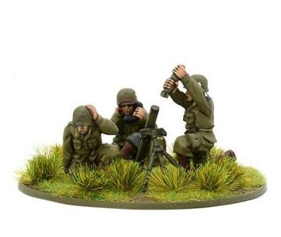 Bolt Action, 2nd Edition: US Airborne Medium Mortar Team (1944-45)
