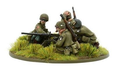 Bolt Action, 2nd Edition: US Airborne HMG Team (1944-45)