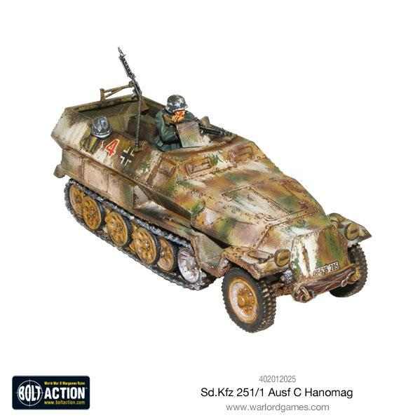Bolt Action, 2nd Edition: Sd.Kfz 251 C Hanomag