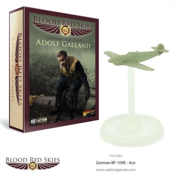 Blood Red Skies: German BF ME-109 Ace - Adolf Galland