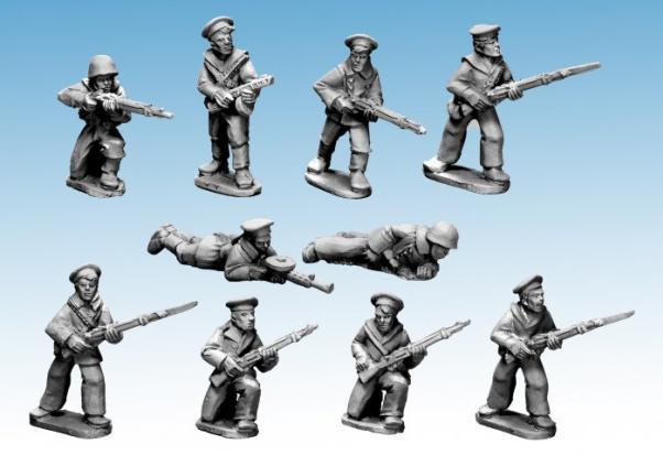 28mm World War II: (Soviet) Soviet Naval Infantry
