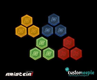 Aristeia!: Generic Token Set (12 units)