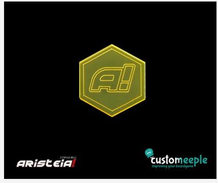Aristeia!: Underdog Token (Yellow Fluor)