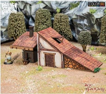 28mm Fantasy: (Terrain) Age of Fantasy - The Anvil of Whispers (Color ED)