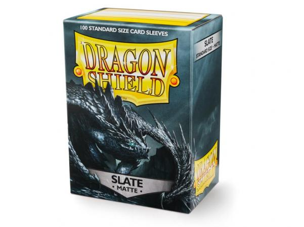 Dragon Shields: Matte Slate Sleeves (100)