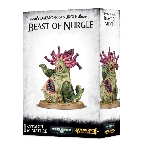 Age of Sigmar: Daemons of Nurgle - Beast of Nurgle