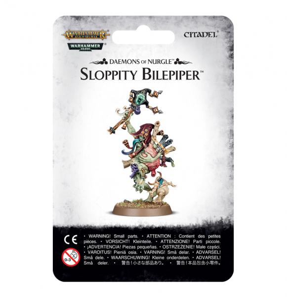 Age of Sigmar: Daemons of Nurgle - Sloppity Bilepiper, Herald or Nurgle