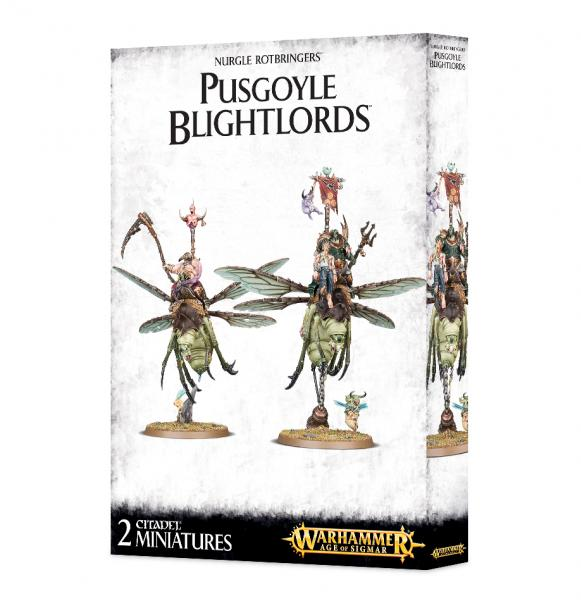 Age of Sigmar: Nurgle Rotbringers - Pusgoyle Blightlords