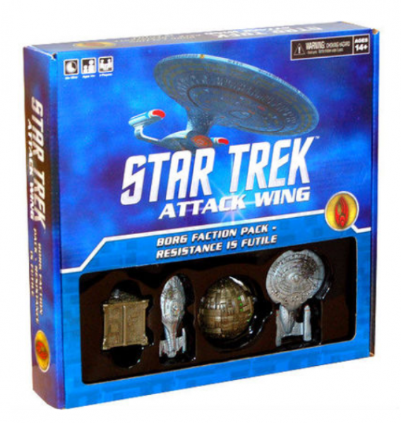 Star Trek Attack Wing: Faction Pack - Borg - Resistance Is Futile