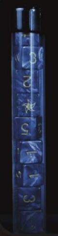 Elder Dice Set: Astral Star Sign (Nine d6 in Tube)
