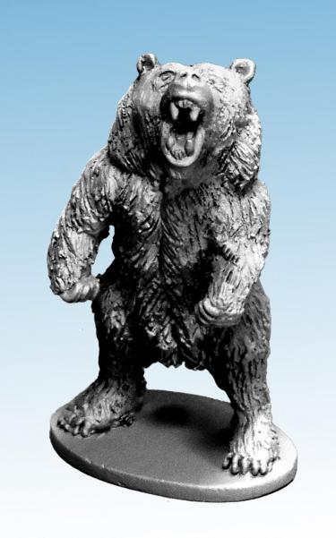 Frostgrave: (Beastiary) Bear Rearing to Attack