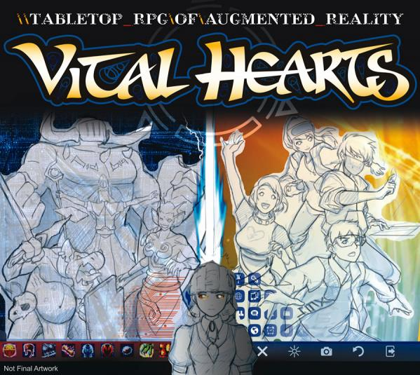 VITAL HEARTS: Tabletop RPG of Augmented Reality
