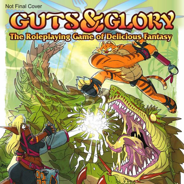GUTS & GLORY Roleplaying Game of Delicious Fantasy