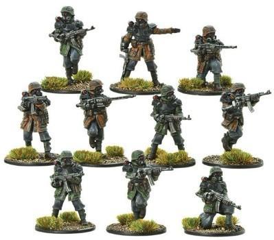 Bolt Action (Konflikt '47): (German) Waffen SS Shocktrooper Squad (10)