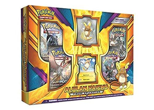 Pokemon CCG: Alolan Raichu Figure Collection