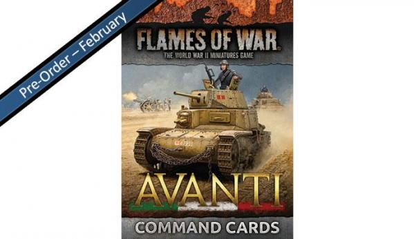 Flames Of War: Avanti - Command Cards