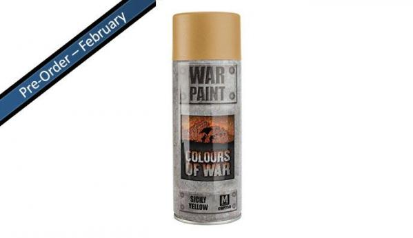 Flames Of War: Avanti - Italian Spray Can (Sicily Yellow)