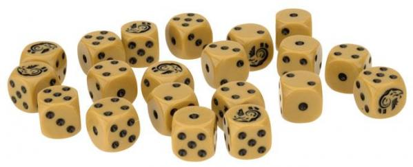 Flames Of War: Avanti - (Italy) Italian Dice (x 20)