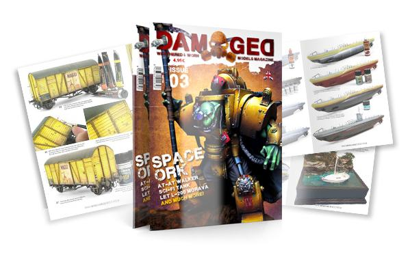 Damaged Magazine: Issue 03