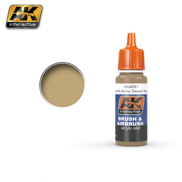 AK-Interactive: French Army Desert Sand Acrylic Paint