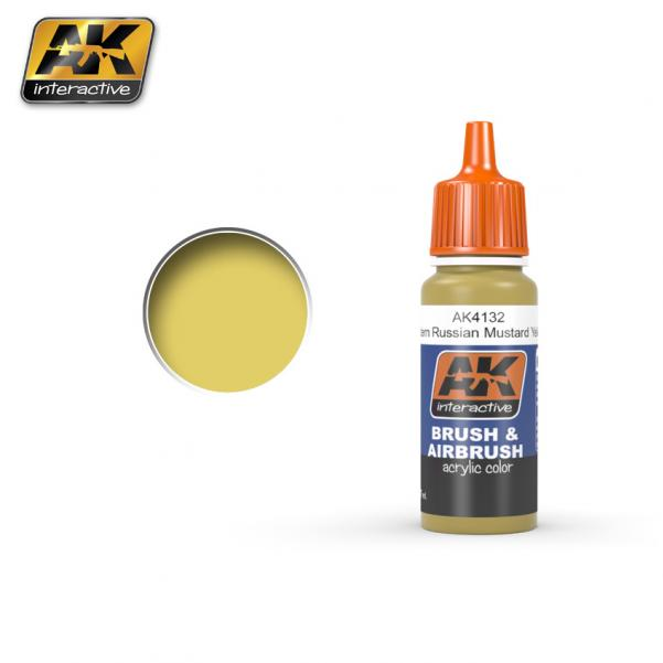 AK-Interactive: Mustard Yellow Acrylic Paint