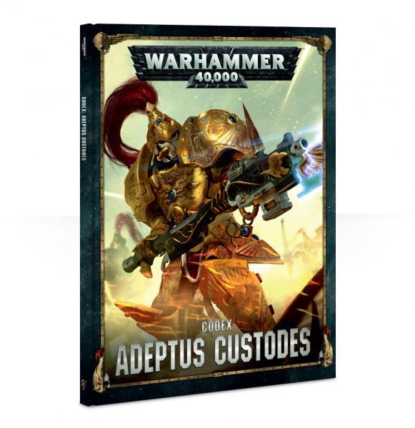 Warhammer 40K: Adeptus Custodes Codex