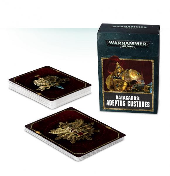 Warhammer 40K: Adeptus Custodes Datacards