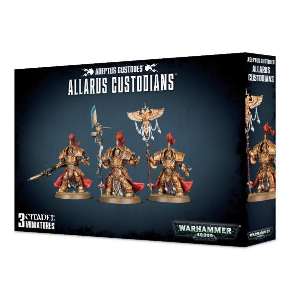 Warhammer 40K: Adeptus Custodes Allarus Custodians