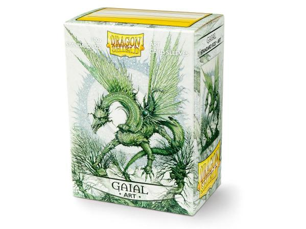 Dragon Shield Art Sleeves: Matte Gaial (100 Sleeves)