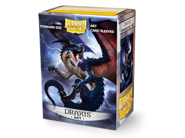 Dragon Shield Art Sleeves: Matte Draxis (100 Sleeves)