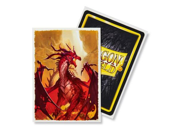 Dragon Shield Art Sleeves: Matte Tanur (100 Sleeves)