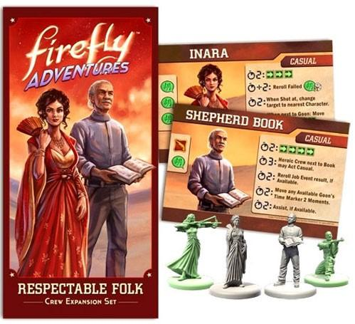 Firefly Adventures: Respectable Folk Expansion